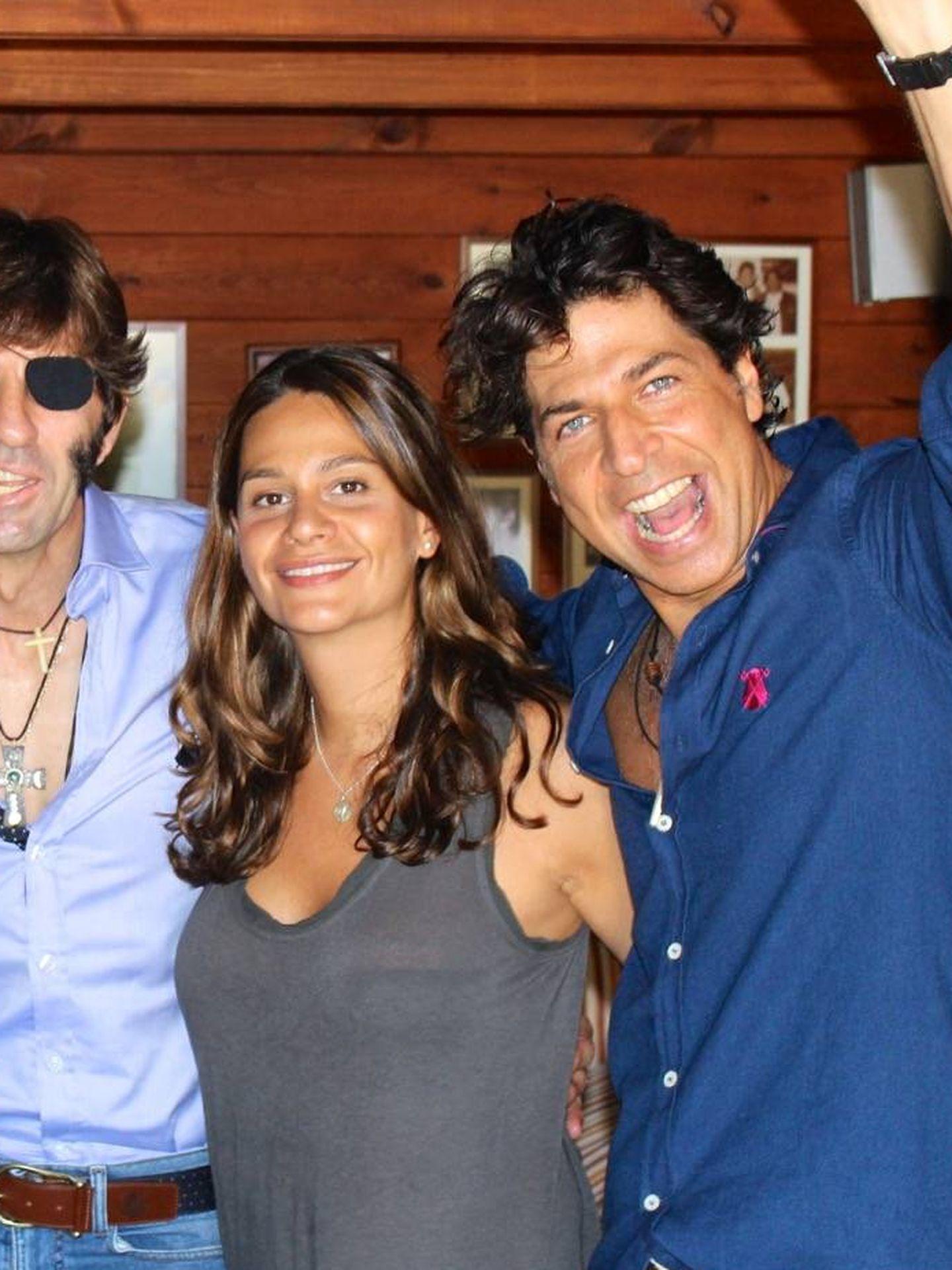 Con el torero Juan José Padilla. (Cortesía Rafa Dona)