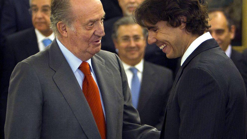 La fidelidad del rey Juan Carlos a Nadal a lo largo de los años: su amistad en imágenes