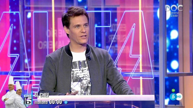 Christian Gálvez, presentador de 'Alta tensión'. (Mediaset España)
