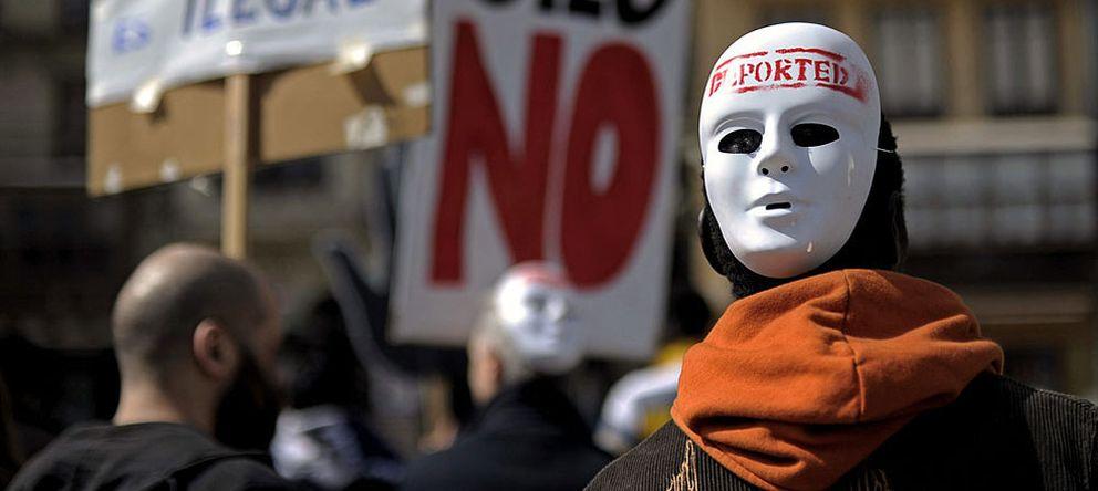Foto: Manifestación contra el racismo. (Efe)
