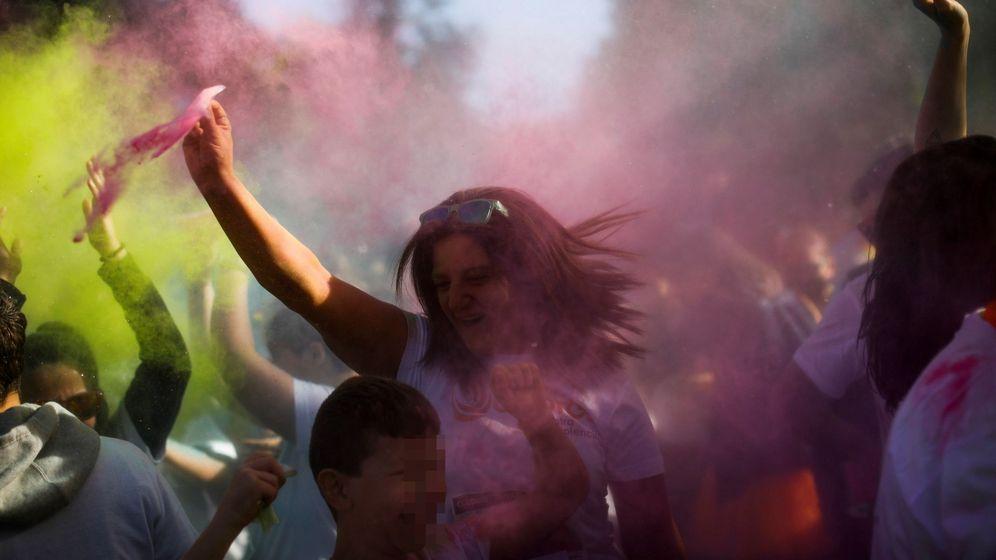 Foto: Carrera solidaria contra la violencia de género. (EFE)