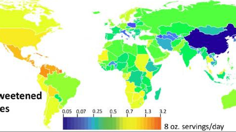 Mapa de tendencias del estudio.