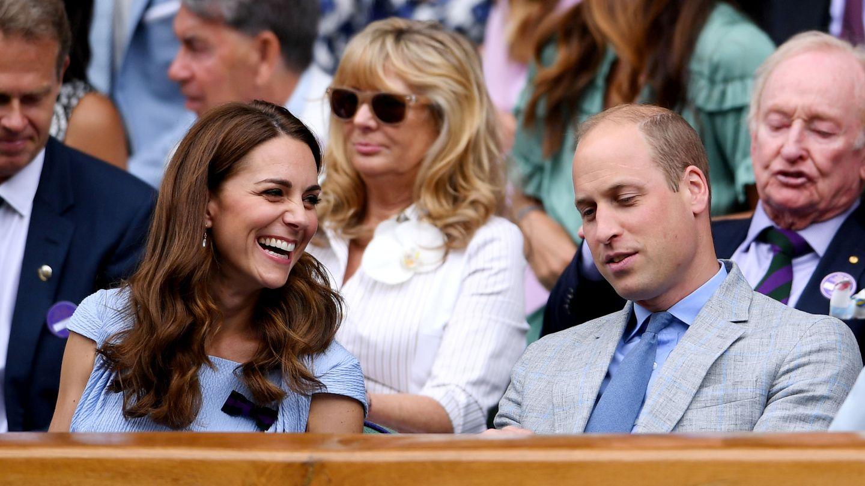 Los duques de Cambridge, en Wimbledon el pasado 14 de julio. (Reuters)