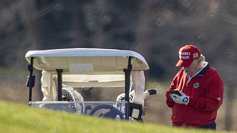 Donald Trump pasó el día de Acción de Gracias jugando al golf sin Melania