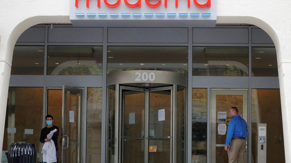 Foto: Oficinas de Moderna en Cambridge. (Reuters)