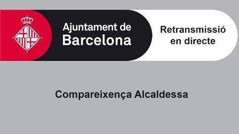 Sigue en directo la comparecencia de Ada Colau sobre la situación de Cataluña