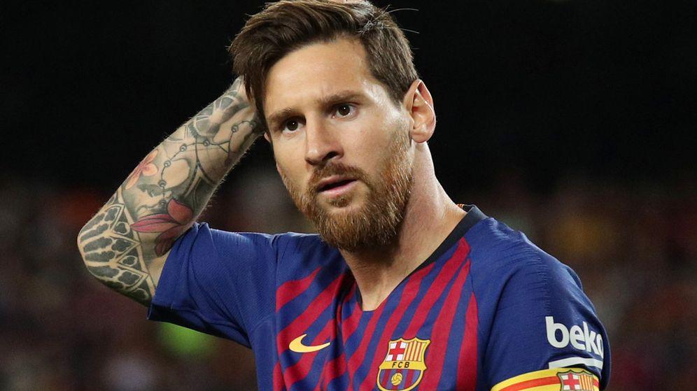 Foto: Messi dejó titulares en su entrevista radiófonica. (Reuters)