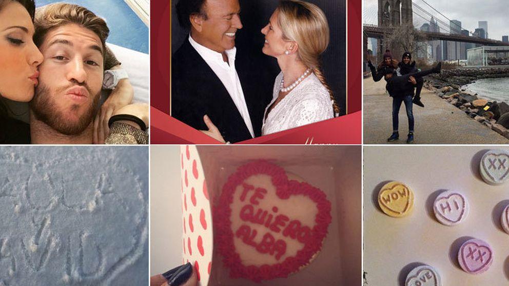 Así fue el San Valentín de las parejas más populares