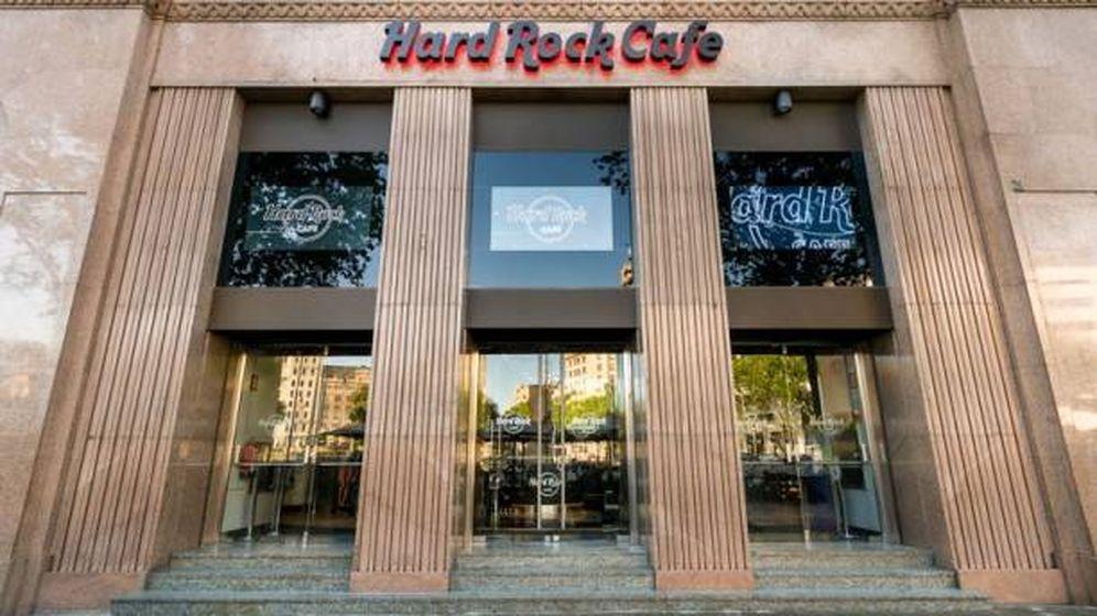 Foto: Hard Rock Cafe en Barcelona.