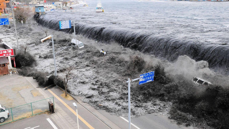 Olas de hasta 14 metros se produjeron tras el tsunami de 2011. (Reuters)