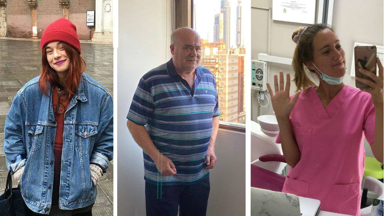 Los voluntarios para combatir el virus en la capital: jubilados, estudiantes y dentistas
