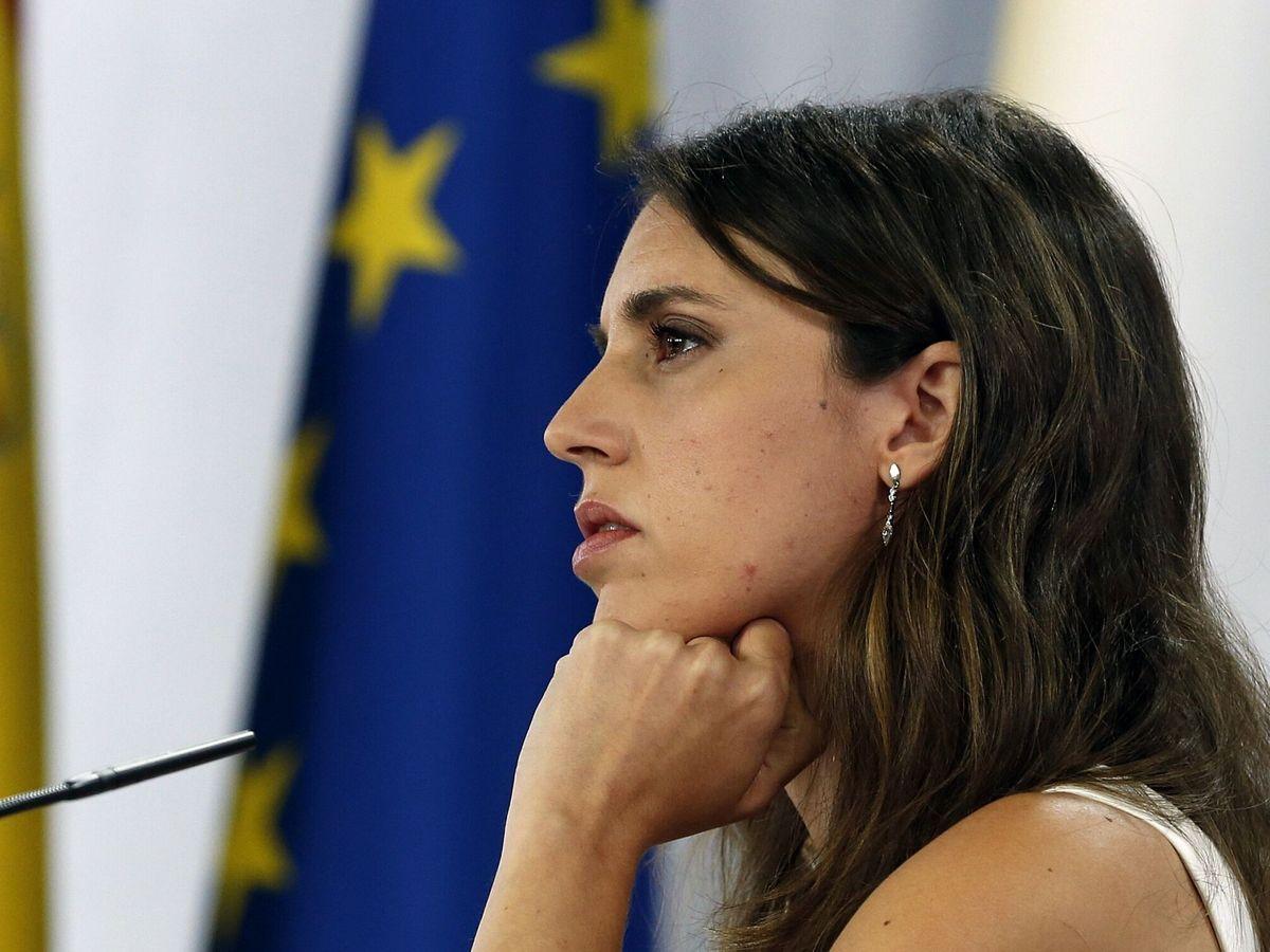 Foto: La ministra de Igualdad, Irene Montero. (EFE)