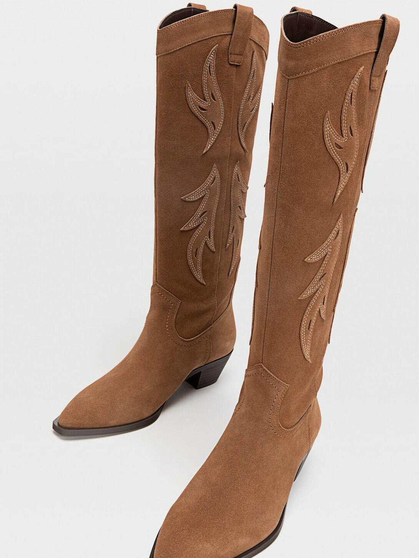 Las botas de Stradivarius. (Cortesía)