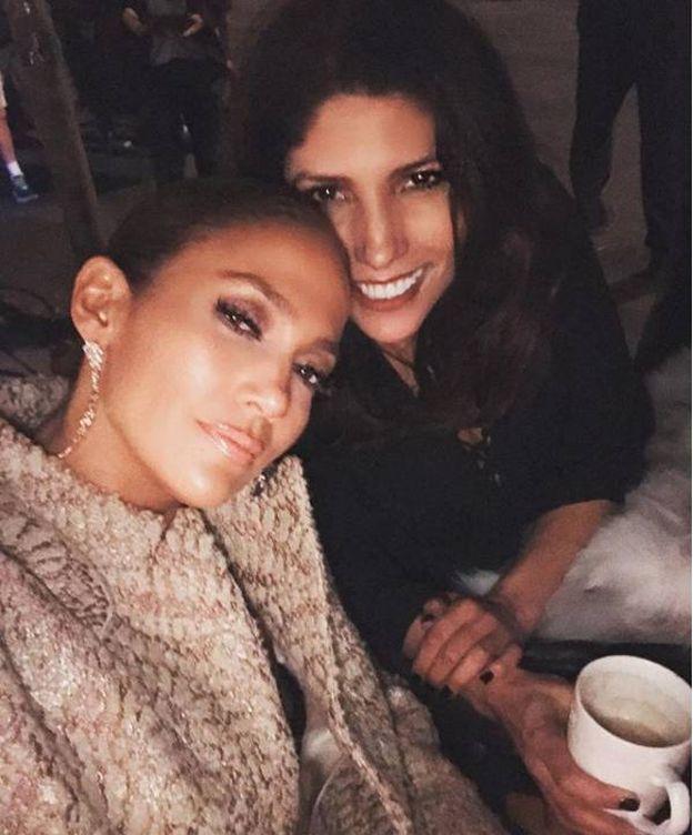 Foto:  Jennifer Lopez y su hermana Lynda. (Imagen de Instagram)