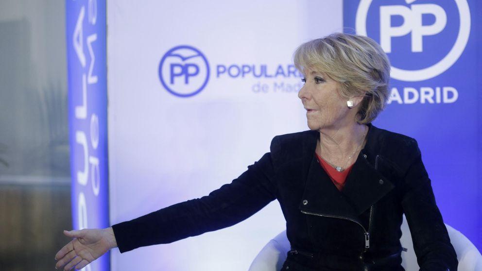 La comisión de investigación dos días antes del 20-D: Aguirre sí, Florentino no