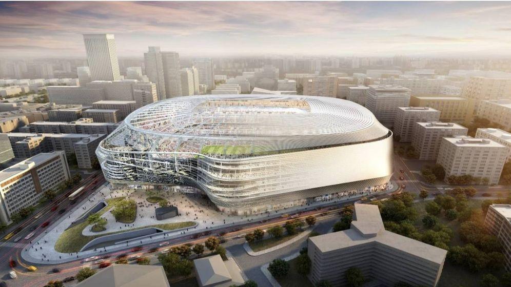 Foto: Así será el estadio Bernabéu una vez reformado