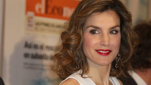 Doña Letizia estrena un Hugo Boss de 400 € para almorzar con sus colegas