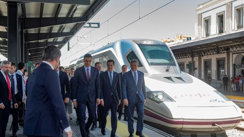 La verdad del AVE a Granada que inauguró Sánchez: a 37 km/hora y vuelta en Falcon