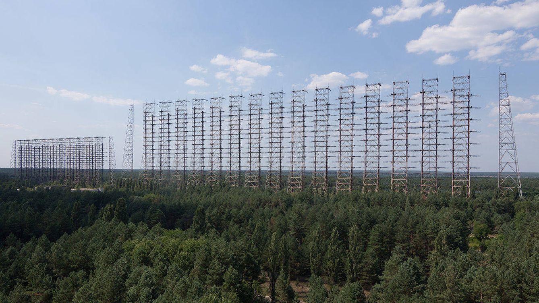 Duga-3, el radar soviético secreto escondido en los bosques de Chernóbil