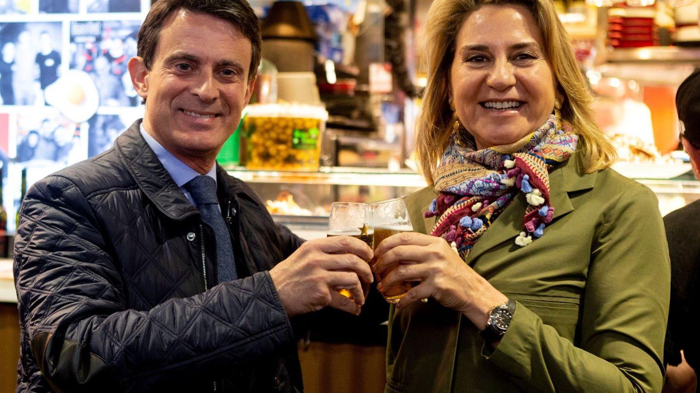 Manuel Valls y Susana Gallardo. (EFE)