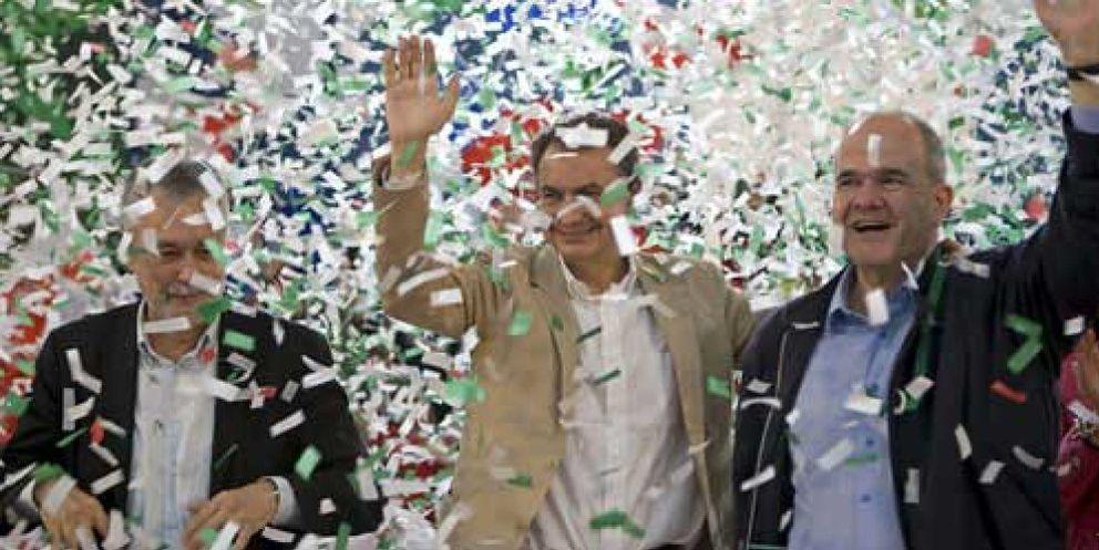 Foto: Chaves retoma el control del PSOE en Andalucía en detrimento de Griñán