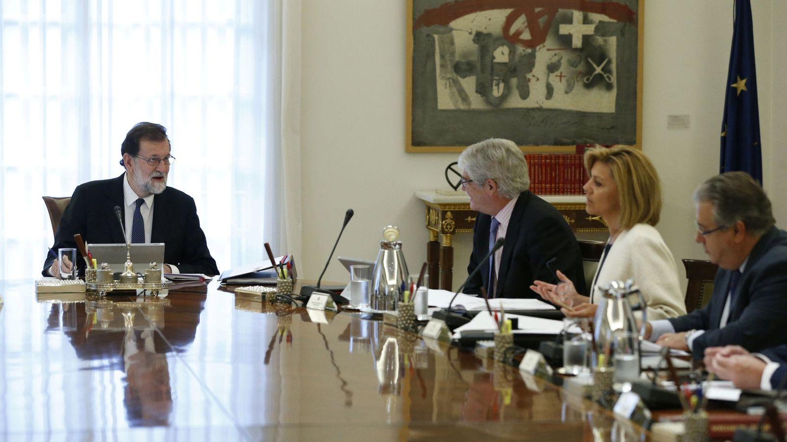 Foto: Consejo de Ministros extraordinario para aplicar el 155