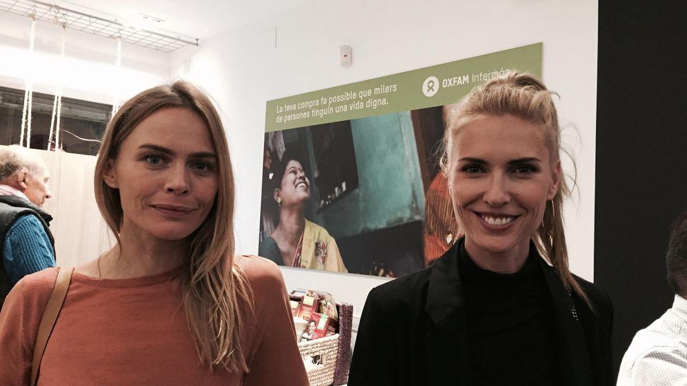 Foto: Verónica Blume y Judith Mascó en la tienda de Intermon Oxfam (Vanitatis)