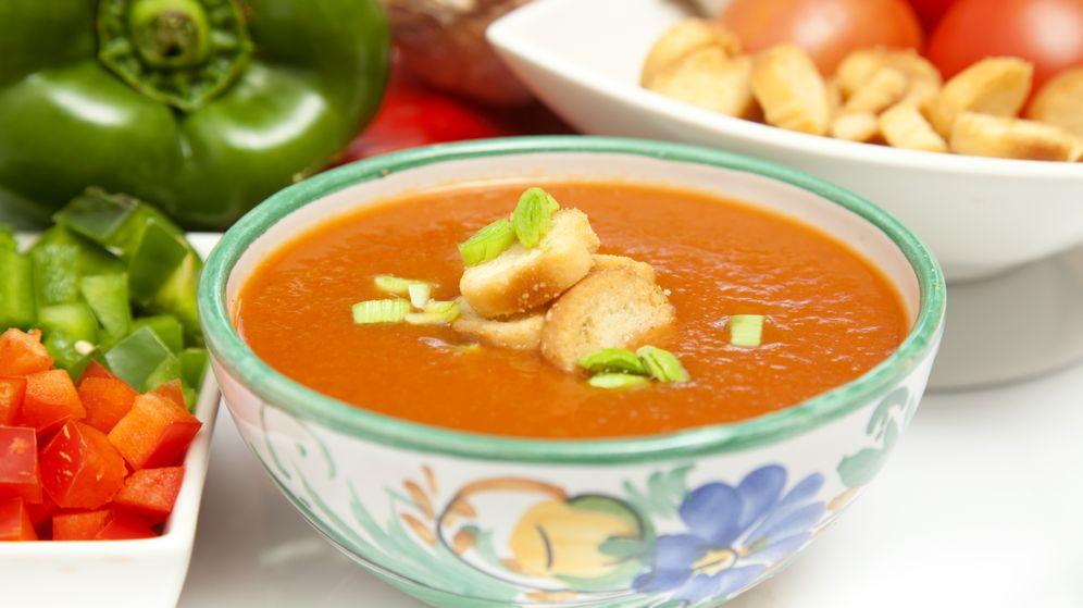Foto: Un buen plato de gazpacho en verano es muy refrescante (iStock)