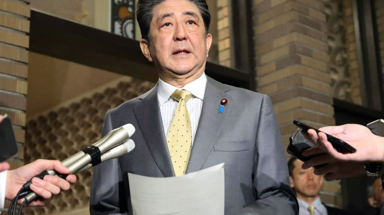 Shinzo Abe, en una imagen de archivo. (EFE)