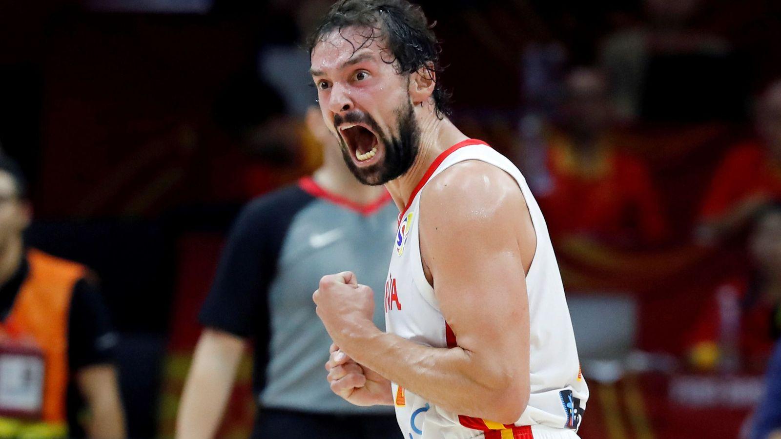 Foto: Sergio Llull anotó 11 puntos en la victoria de España ante Italia. (EFE)