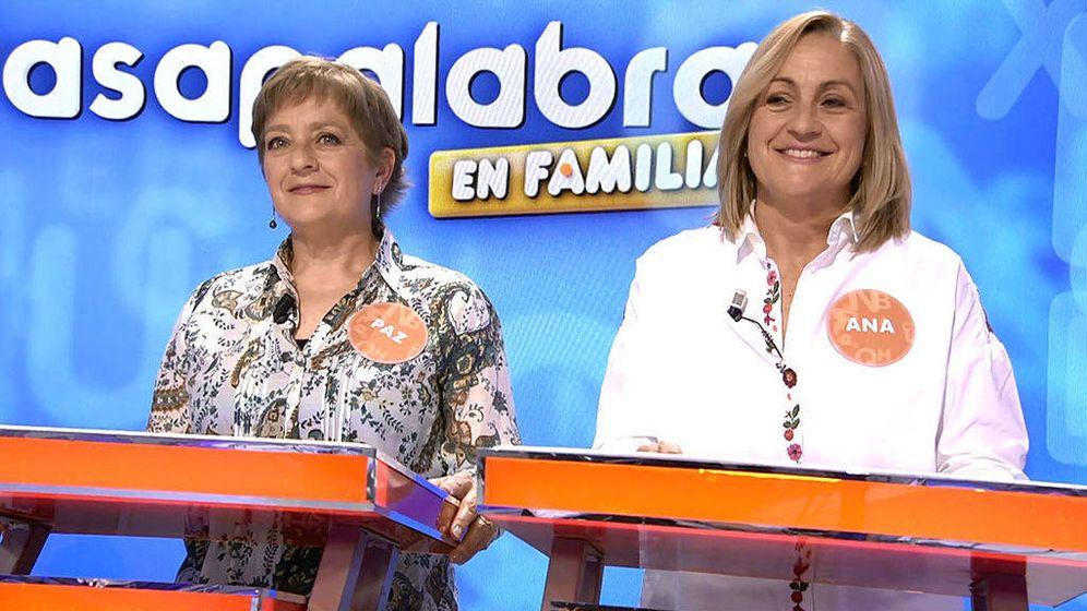 Foto: Las hermanas Paz y Ana Herrera. (Mediaset)