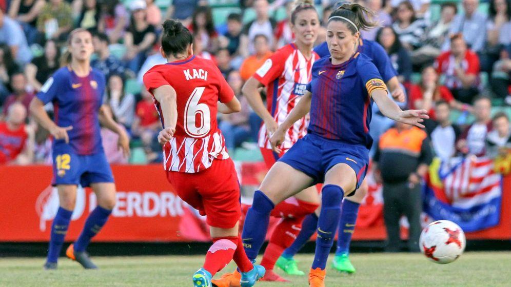 Foto: La Liga Femenina tendrá convenio colectivo en pocos meses. (EFE)