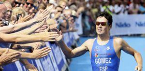 Javier Gómez Noya, campeón de Europa de triatlón