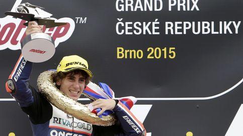 Niccolo Antonelli consiguió en Brno su primera victoria en el Mundial de Moto3