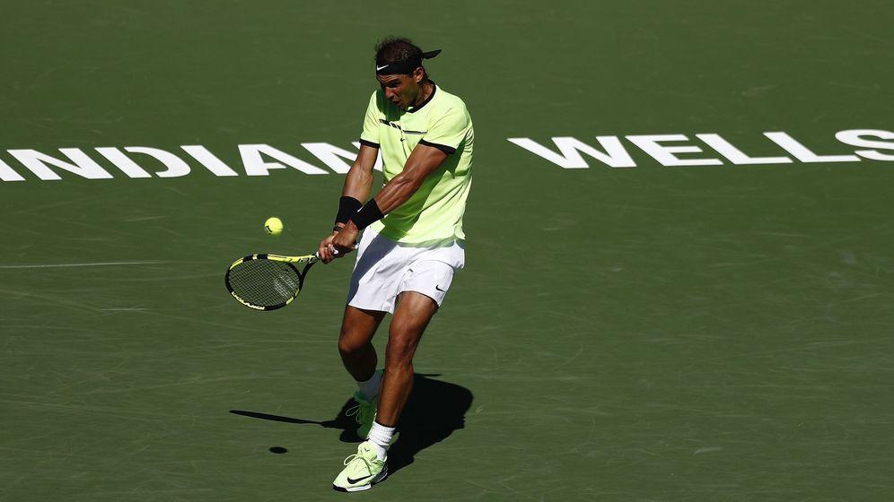 Foto: Nadal, en Indian Wells. (EFE)
