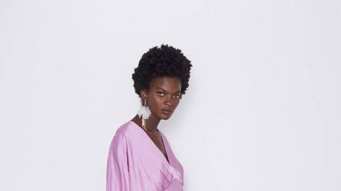 El vestido perfecto para un evento, bonito, de tendencia y para embarazadas, es de Zara