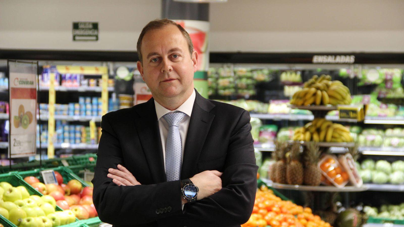 Foto: Luis Osuna, presidente de Covirán. (Covirán)