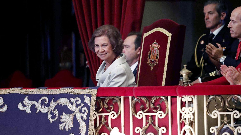 La reina Sofía, en una edición anterior de los Premios Princesa de Asturias. (EFE)