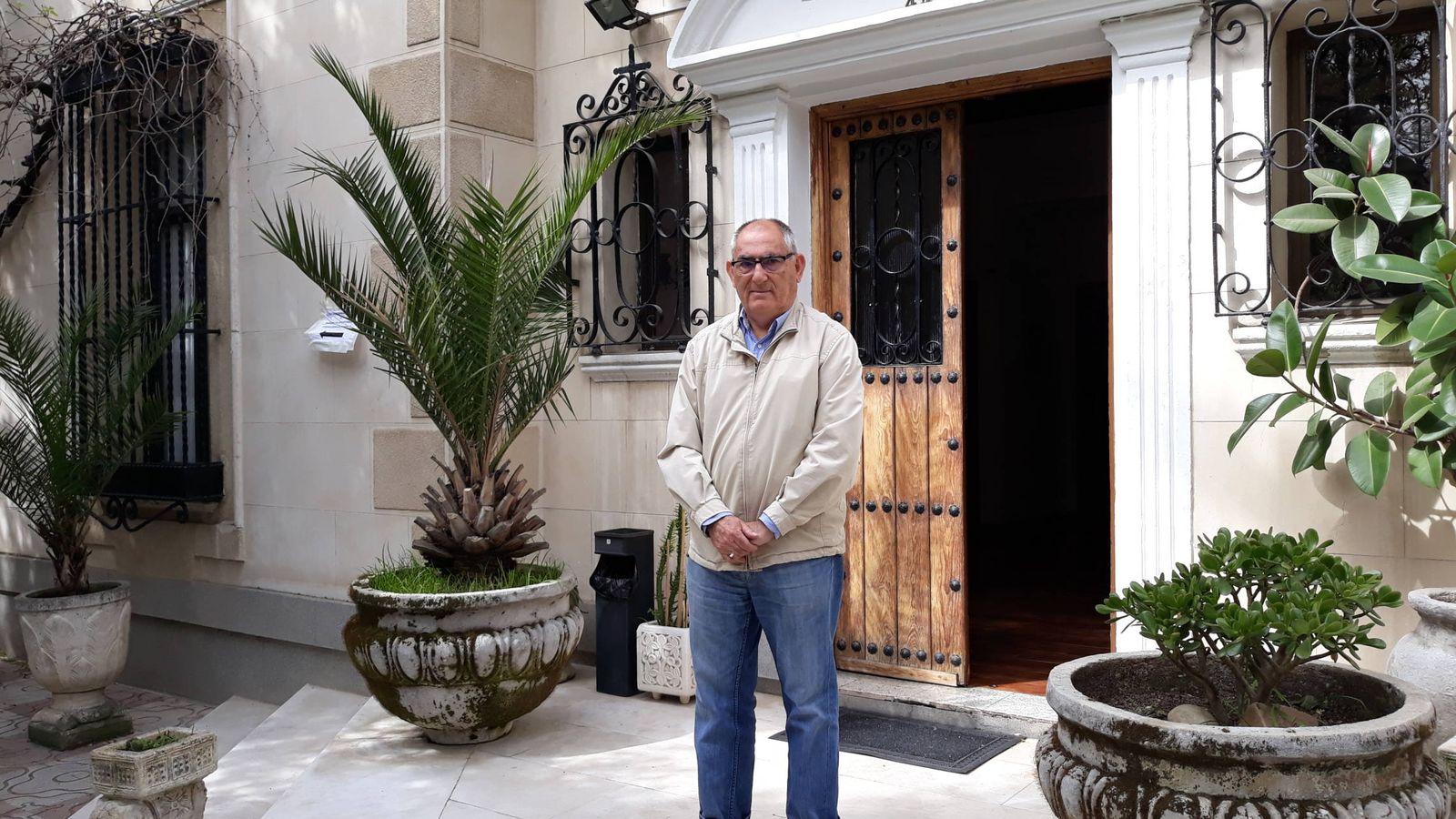 Foto: José María Jiménez, vicepresidente del Teléfono de la Esperanza. (D. B.)