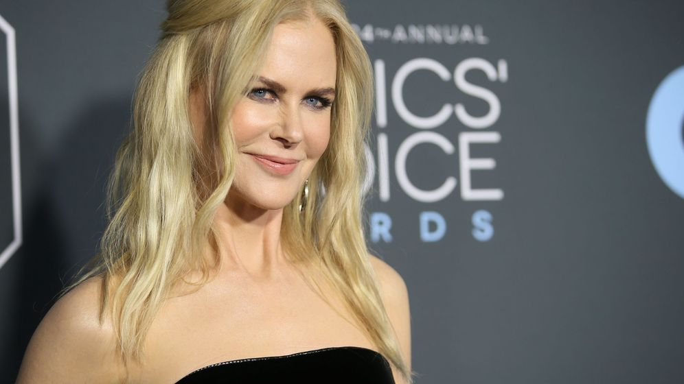 Foto: Nicole Kidman posando en la red carpet de los Critics' Choice Awards. (Reuters)