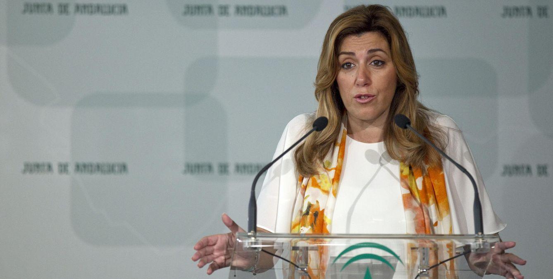 Susana Díaz, presidenta en funciones de la Junta de Andalucía. (EFE)