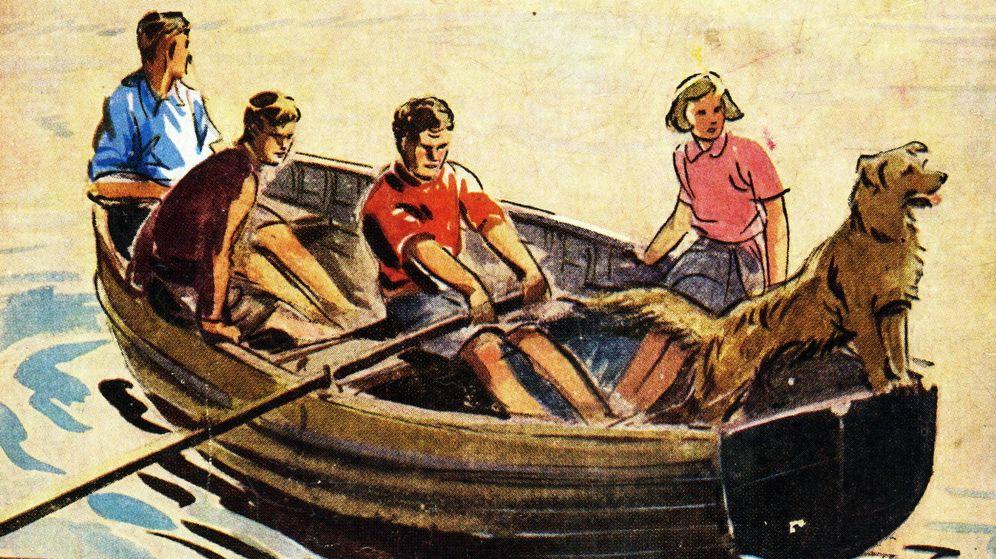 Foto: Portada de 'Los cinco y el tesoro de la isla'.