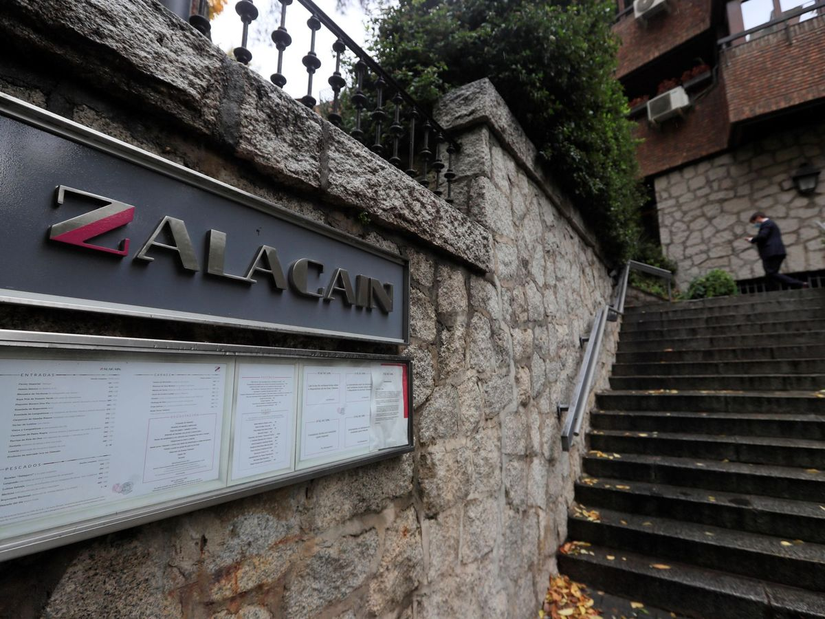 Foto: Restaurante Zalacaín. (EFE)