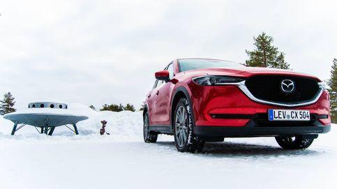 Nieve y hielo en un Mazda CX5: lo probamos por las frías carreteras de Laponia
