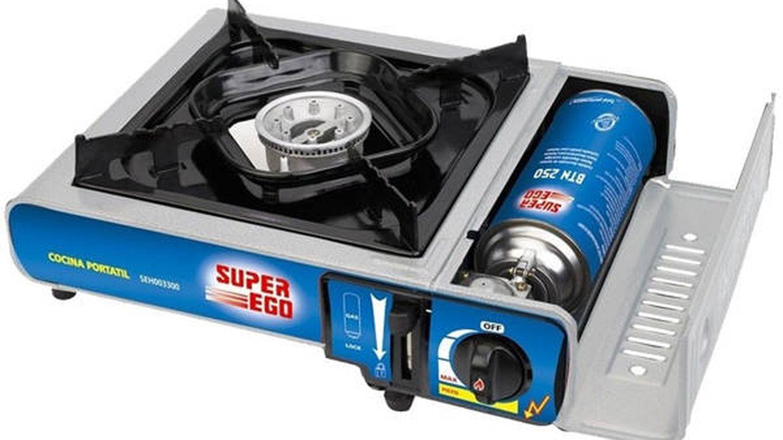 Cocina de cartucho a gas Portátil SUPER EGO SEH003300