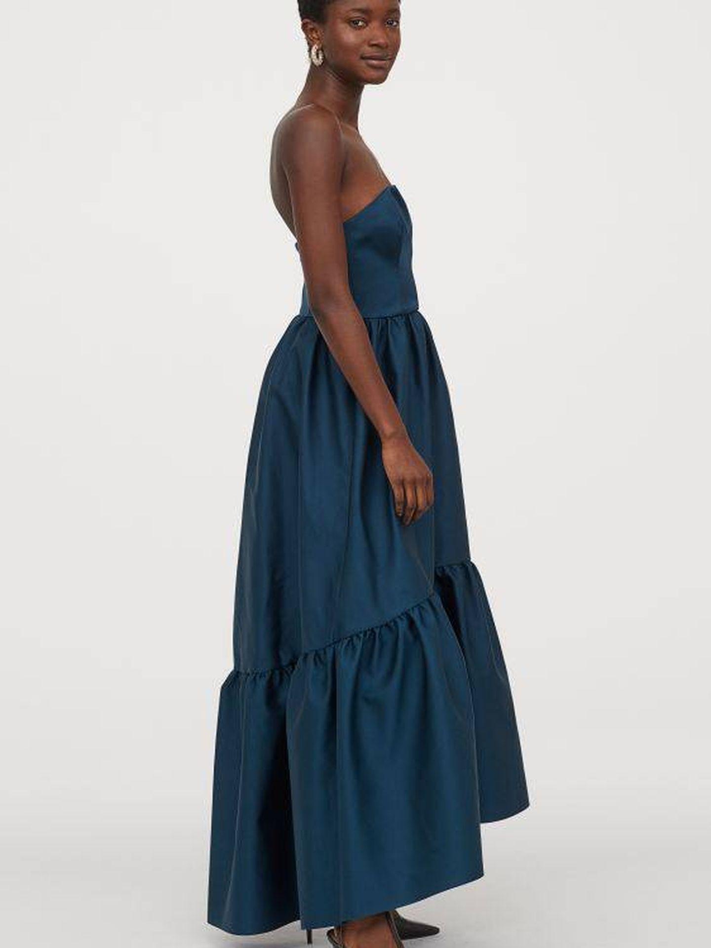 El nuevo vestido para invitadas de HyM. (Cortesía)