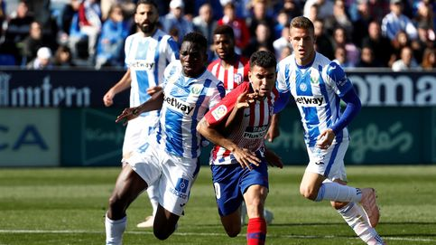 Atlético de Madrid - Leganés en directo: resumen, goles y resultado