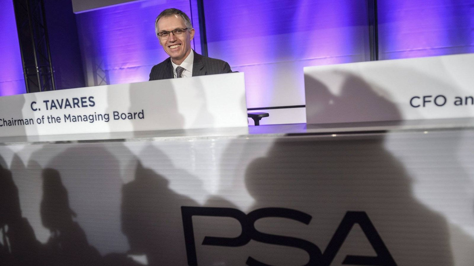 Foto: Carlos Tavares, CEO de Grupo PSA (Christophe Petit Tesson/EFE)