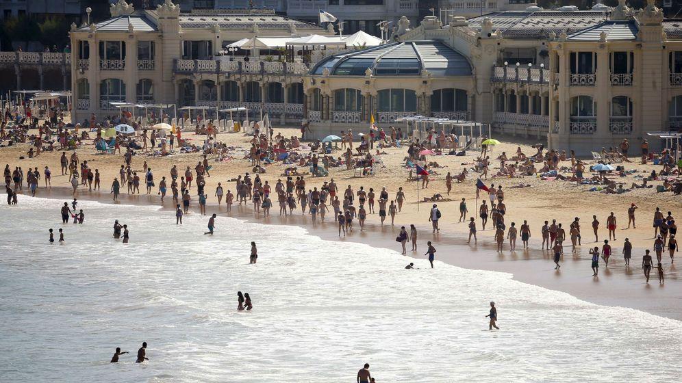 Foto: Playa de La Concha, en San Sebastián. (EFE)