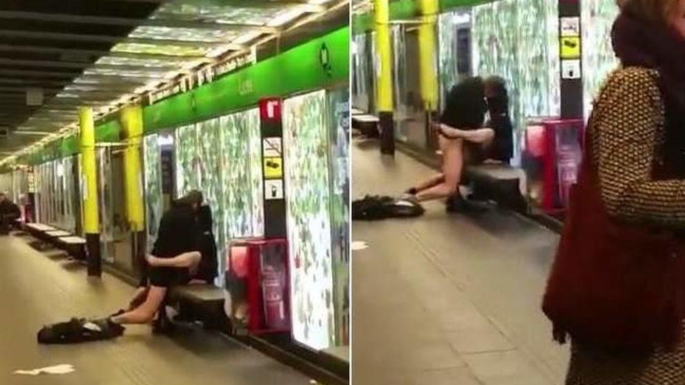 Sexo y orín en el metro de Barcelona: los vídeos que señalan a Ada Colau
